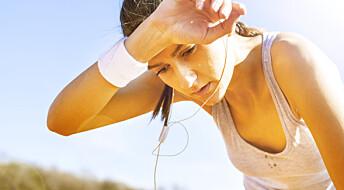 Spør en forsker: Må man svette for å forbrenne fett?