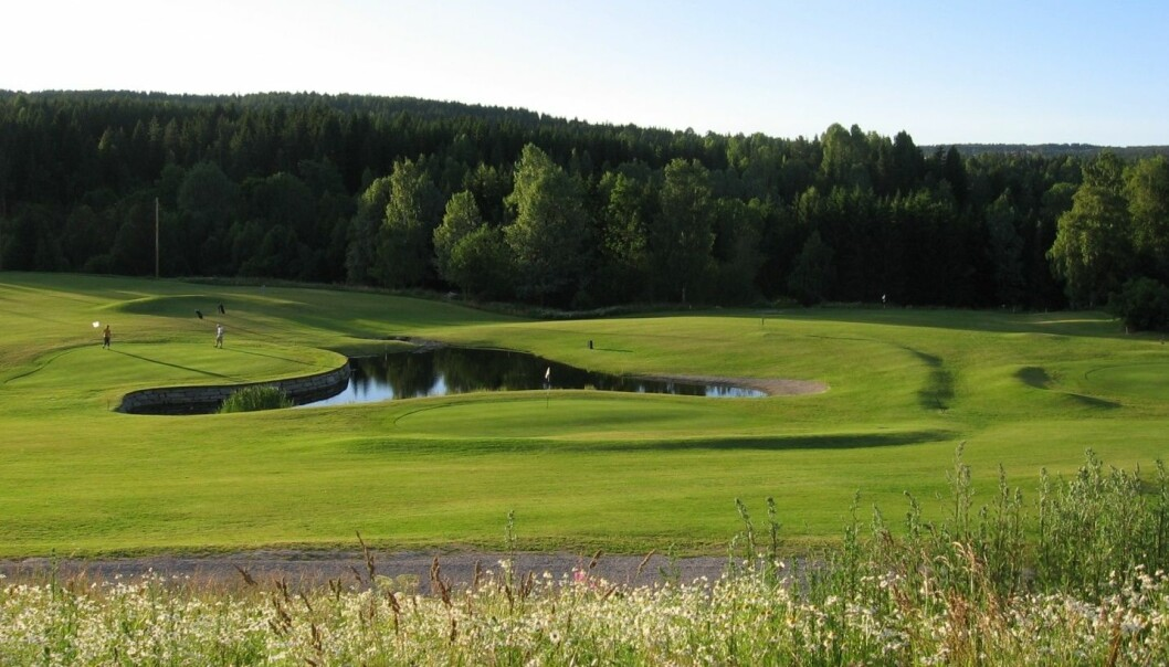 Imhjelt golfsenter i Drammen. (Foto: Tanja Espevig)