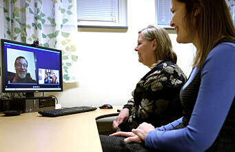 Acute psychiatric help via video conference