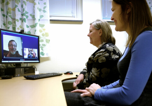 Acute psychiatric help via video conference