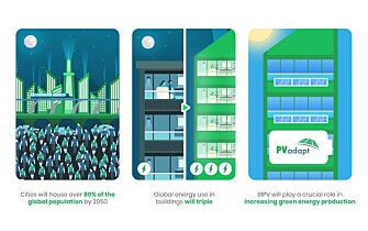 An illustration from the PV-adapt project, which is a major EU project involving several partners from many countries.