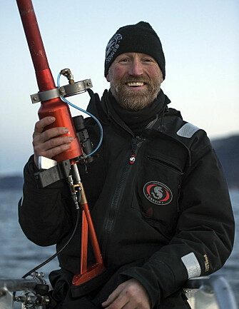 Professor Audun Rikardsen leads the Whaletrack project that studies whale migration. (Photo: Audun Rikardsen)