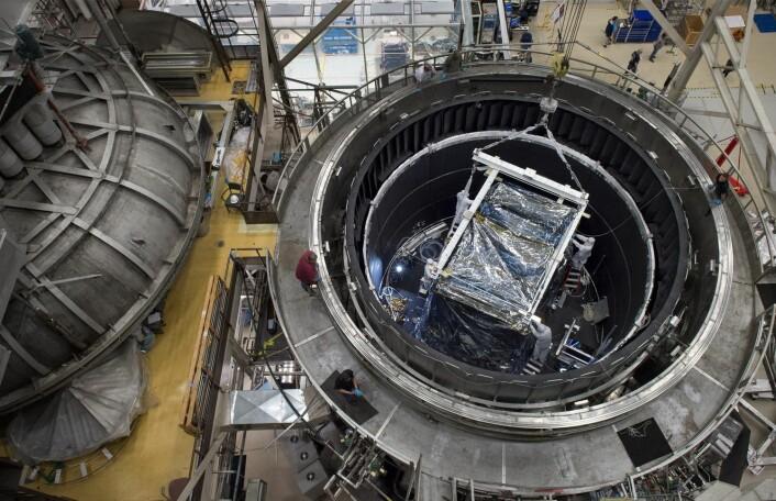 Hjertet til James Webb Space Telescope besto frysetesten. (Foto: Christ Dunn, EPA/NASA)