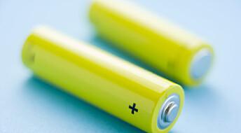 Ledende plast kan  brukes i fremtidens batterier