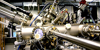 A molecular beam epitaxy (MBE) machine at NTNU. (Photo: Idun Haugan, NTNU)