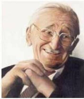 "Den østerriksk-britiske sosialøkonomen Friedrich Hayek. (Foto: Pessimist2006, <a href=""http://creativecommons.org/licenses/by-sa/3.0/deed.no"">Creative Commons</a>)"