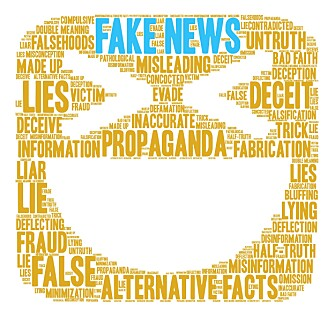 Misinformation can be spread by anyone who has something to gain from fake news. (Illustration: Colourbox)