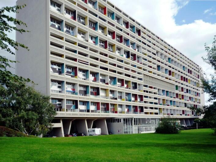 Unité d'Habitation i Berlin, oppført 1957. (Foto: Manfred Brückels/Creative Commons)