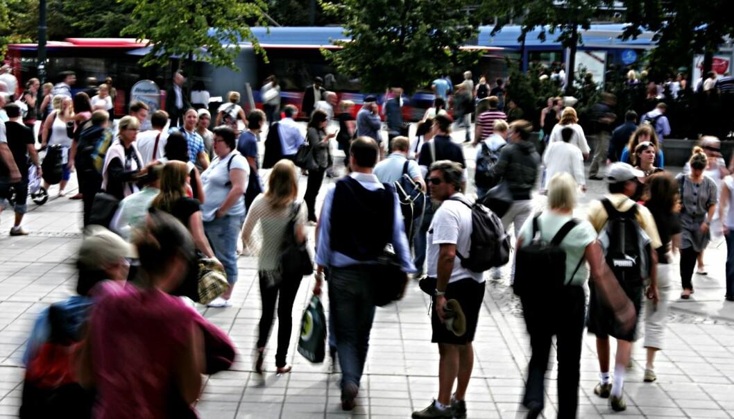 Flere tror at innvandring er dårlig for økonomien når arbeidsledigheten er høy. (Foto: Thomas Olsen, Aftenposten)
