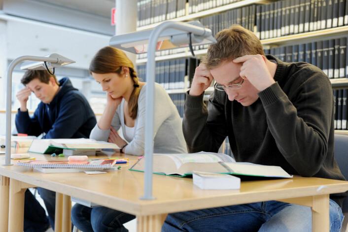 Dersom majoriteten av norsk ungdom ender opp på en lesesal på Blindern, vil Norge mangle helt grunnleggende fagkompetanse i årene fremover, varsler forskere.  (Foto: Scanpix, May Frank)