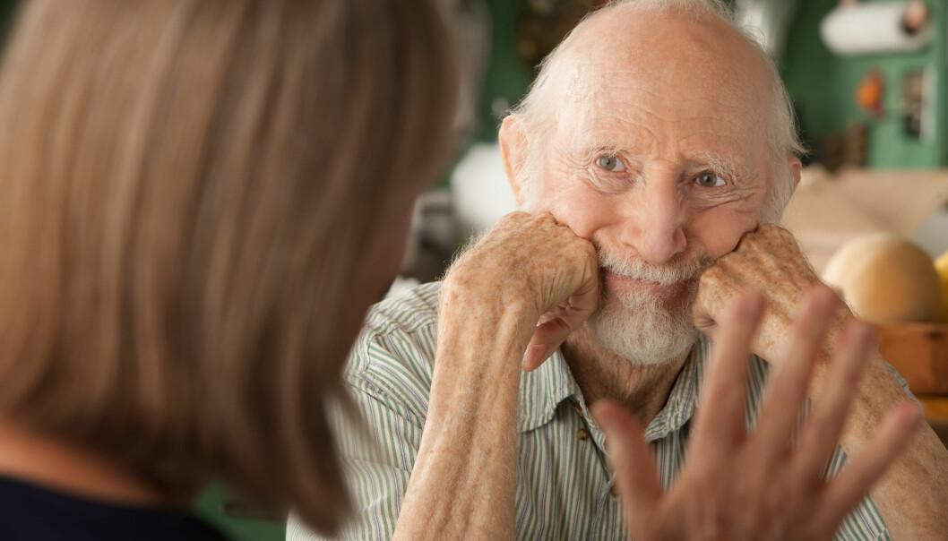 Sunne vaner gir en god hukommelse – også hvis du har Alzheimers sykdom.  (Foto: Colourbox)