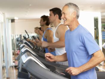 Fysisk aktivitet reduserer dødeligheten, reduserer risiko for hjerteinfarkt og en rekke andre sykdommer. Illustrasjonsfoto: Colourbox