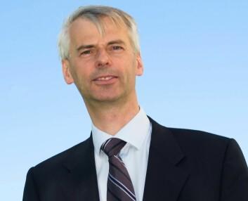 NHH-professor Øystein Thøgersen. (Foto: Hallvard Lyssand)