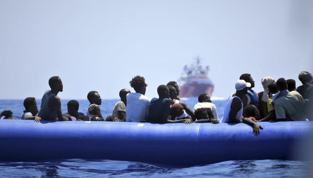 Det overveldende flertallet av dem som tok seg over Middelhavet til Europa i 2015 og 2016, flyktet fra konflikt og forfølgelse i hjemlandet, viser tysk undersøkelse. (Illustrasjonsfoto: MSF, AP, NTB scanpix)