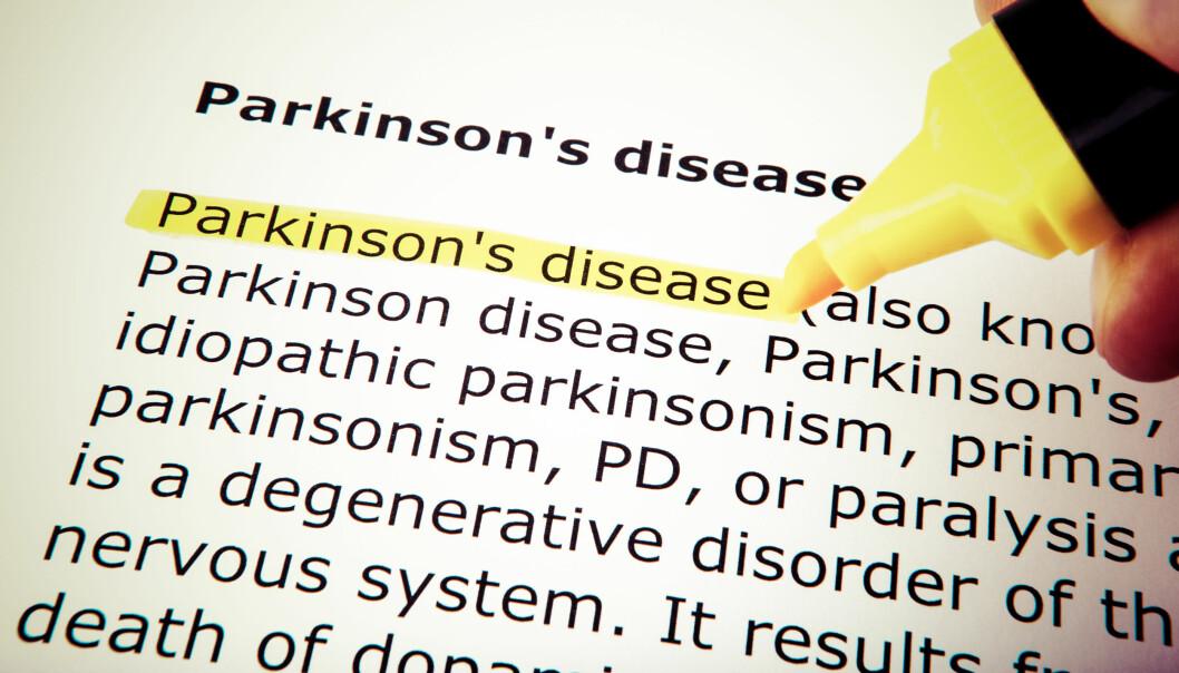 Parkinsons er en sykdom som rammer nervesystemet og karakteriseres ved symptomene: bevegelseshemning, muskelstivhet og skjelvinger.  Illustrasjonsfoto: Colourbox