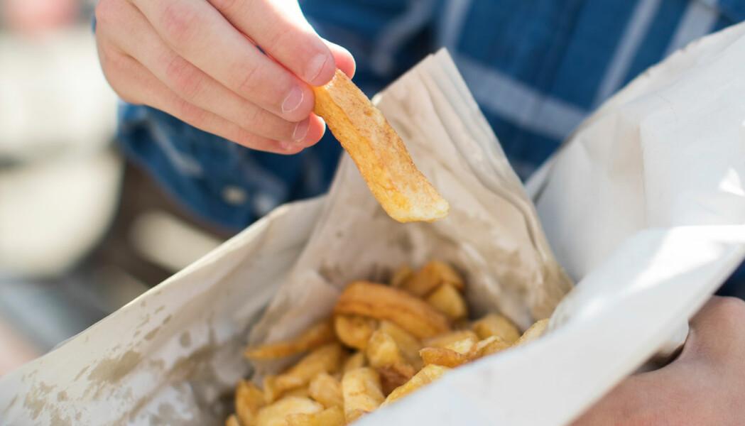 Britisk tenåring spiste bare søppelmat og ble delvis blind