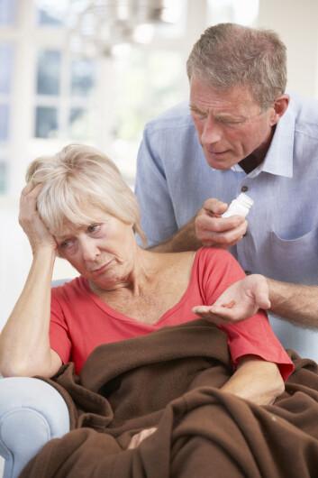 Alzheimers sykdom er en hjernesykdom og er en av de vanligste årsakene til demens. Foto: Colourbox