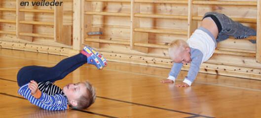 Veileder for barnehagebarn i bevegelse