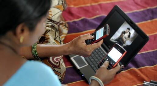 Mobiltelefonen gir fattige, indiske kvinner et nytt liv