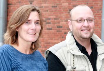 Anne Waldrop og Kenneth Bo Nielsen. (Foto: Heidi Elisabeth Sandnes, Kilden)