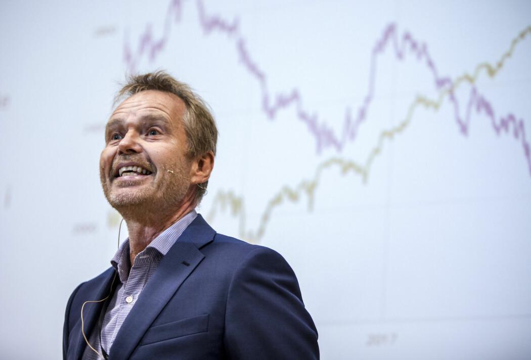 SSB-forsker Roger Hammersland mener verdensøkonomien er på vei inn i en lavkonjunktur. Bildet er fra 2018. (Foto: Ole Berg-Rusten, NTB scanpix)