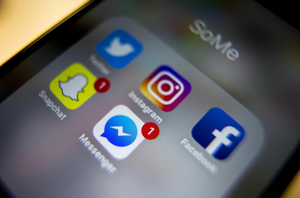 De aller fleste barn og unge bruker sosiale medier, og forskning ser kun en liten sammenheng til mer depresjon, atferdsproblemer og alkoholforbruk. (Foto: Scanpix)