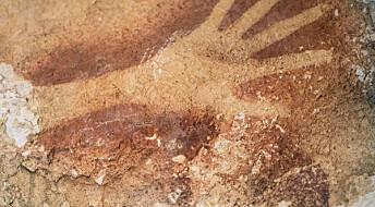 40 000 år gamle hulemalerier i Indonesia