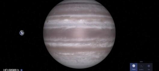 Vil du gi navn til denne planeten?