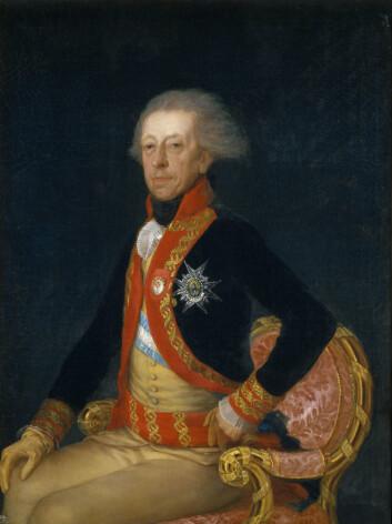 General Ricardo Carillo (1727-1794). Maleri av Francisco Goya (Foto: Wikimedia Commons)