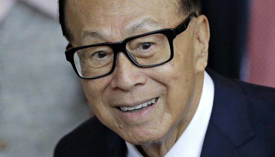 Hongkong-kineseren Li Ka Shing er en av verdens rikeste personer, men er selv kjent for å leve et enkelt liv. Han bruker mye av formuen sin på å støtte forskning. (Foto: (AP Photo/Kin Cheung/NTB scanpix)