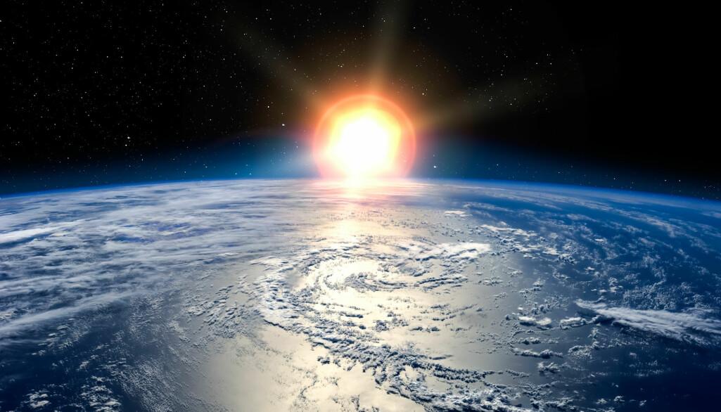 Var det ekstreme tilfeldigheter som gjorde at livet oppstod på jorda eller var det nærmest en nødvendighet? (Bilde: Vadim Sadovski / Shutterstock / NTB scanpix)