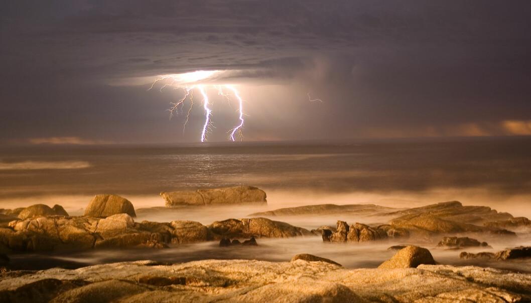 Kanskje dannes det noen nye organiske stoffer når lynet slår ned i dag også, men de vil i så fall forsvinne fort. (Bilde: Dreamer Company / Shutterstock / NTB scanpix)
