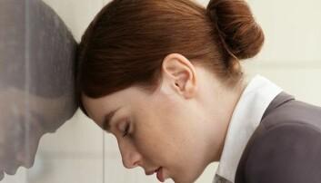 Innadvendte kvinner med humørsvingninger som hadde lett for å bli fortvilet og stresset midtveis i livet, hadde økt risiko for å få Alzheimers senere i livet, ifølge svensk studie.  (Illustrasjonsfoto: Colourbox)