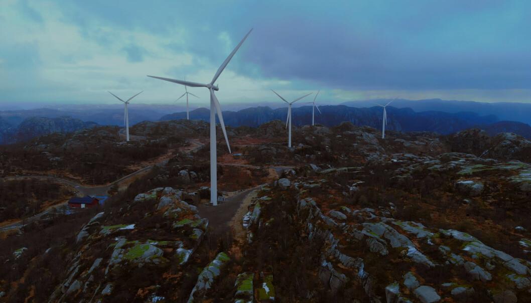 Bare seks av landets 19 fylker har laget regionale planer for vindkraft, og anbefalingene i disse planene har i liten grad blitt fulgt. (Illustrasjon: Gulsrud Action / Shutterstock / NTB scanpix)