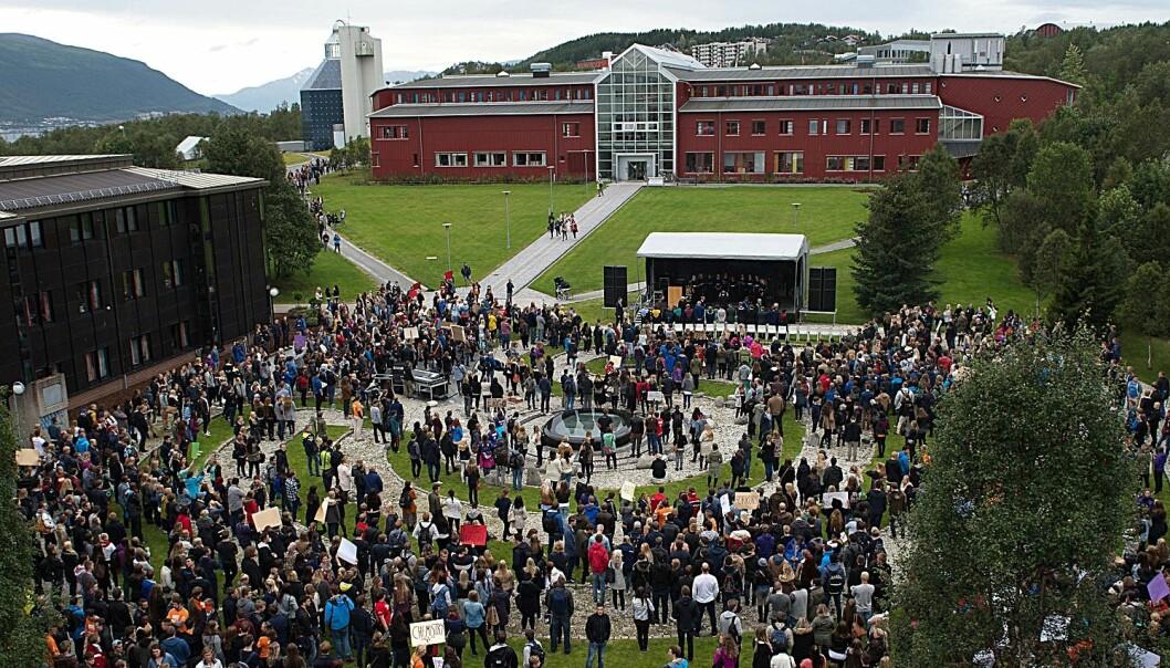 Åpning av studieåret ved UIT Norges arktiske universitet. (Foto: UiT)