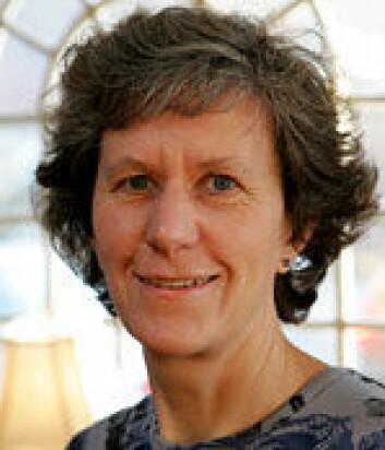 Professor Ursula Gibson, Insitutt for fysikk ved NTNU. (Foto: NTNU)