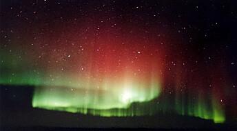 Kan se jordas magnetfelt i nordlyset