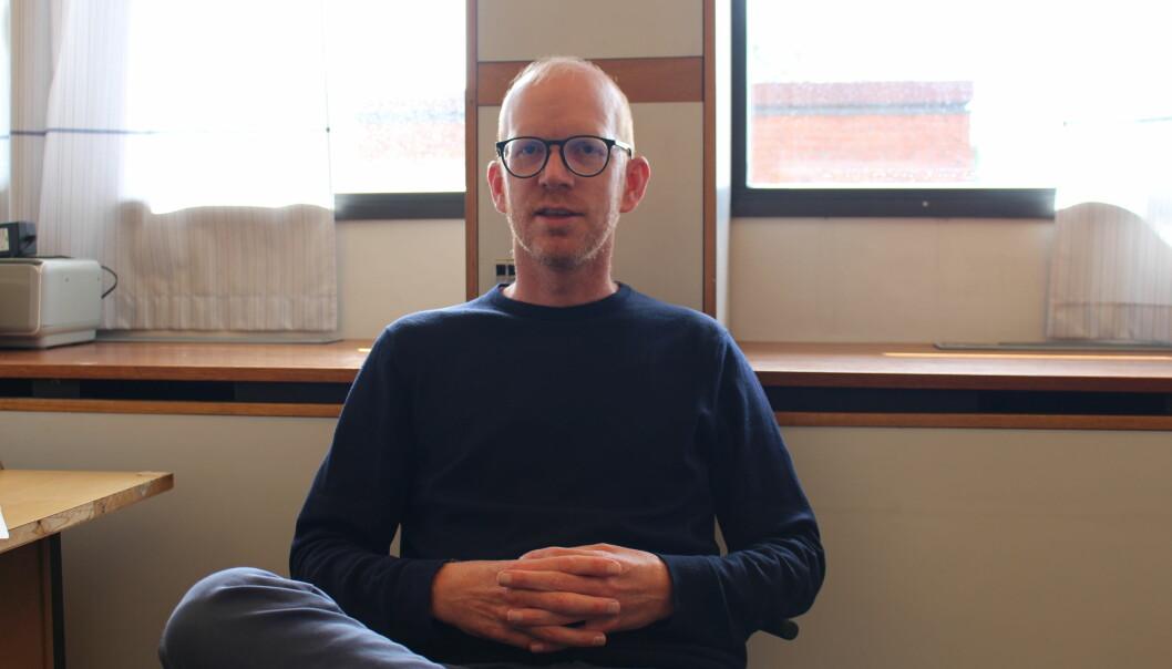 Reidar Lund er førsteamanuensis ved Seksjon for kjemisk livsvitenskap, Universitetet i Oslo. (Foto: Elise Kjørstad).