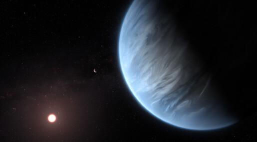 Jordlignende planet har vann i atmosfæren