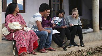 Barselomsorg laget av masterstudenter prøves ut i Nepal