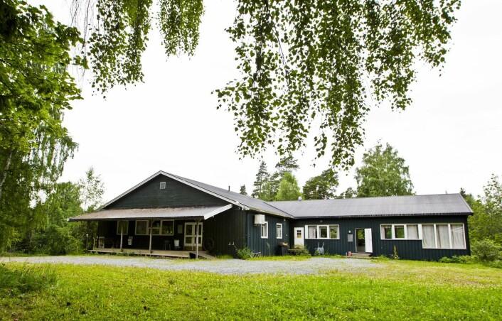 Forskaren meiner det er utenkjeleg å rive heile kafébygget på Utøya.  (Foto: Scanpix, Vegard Wivestad Grøtt)
