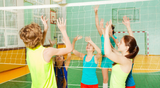 Bør barn få velge lag selv i gymtimen?