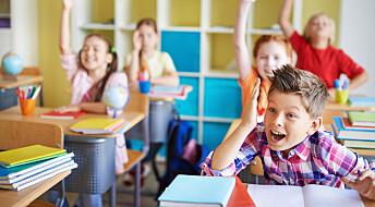 – Ungene snakker for lite i klasserommet