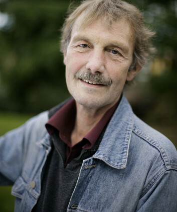 Stein Kristiansen jobber med klimastatistikk ved Meteorologisk institutt. (Arkivfoto: Meteorologisk institutt)