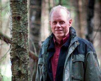 Skogforsker Kjell Andreassen. (Foto: Lars Sandved Dalen)