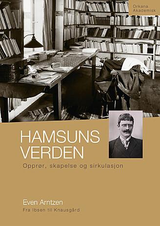 Even Arntzens bok, Hamsuns verden, lanseres under Den 7. internasjonale Hamsun-konferansen ved UiT 18.- 20. september.