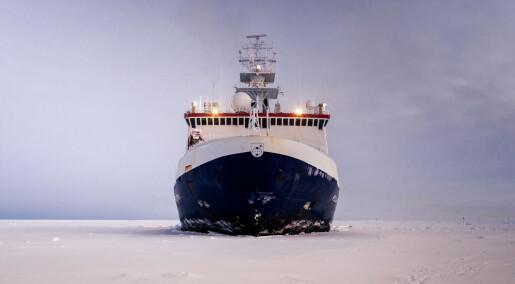 Forskere fra 19 land skal tilbringe ett år i Nordishavet