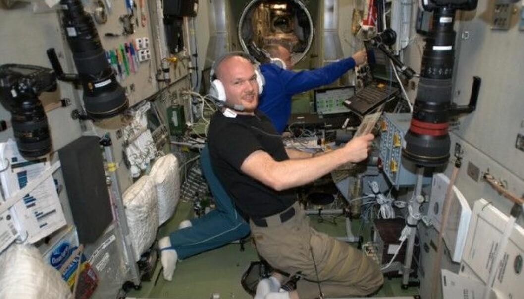 Hva gjør astronauter mens de er på jobb i rommet?