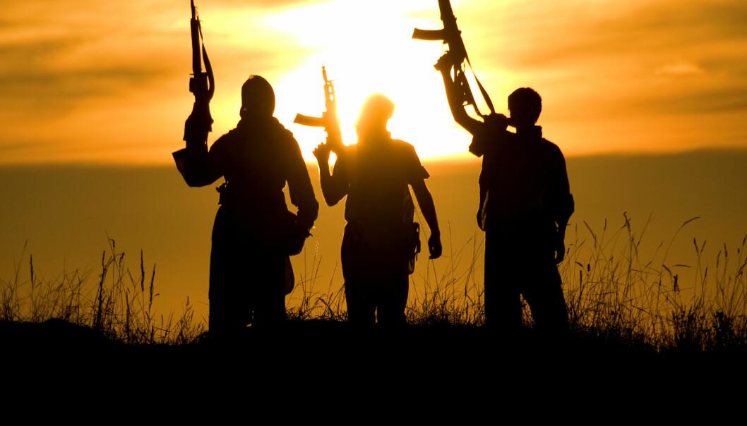 Unge menn med utseende fra Midtøsten er stereotypen på en terrorist i nyhetsdekningen, viser en ny doktorgradsavhandling. (Foto: Microstock)