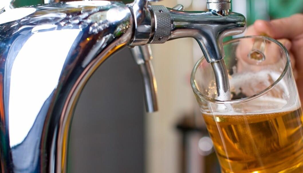 I helga frister det kanskje mer med en øl etter en fullført treningsøkt.  (Illustrasjonsfoto: Colourbox)